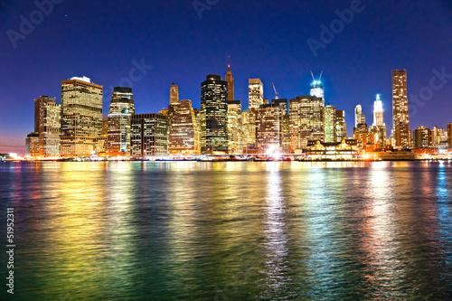 Manhattan, New York City. USA. - 51952311