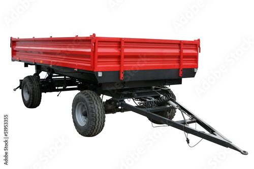 The red tractor cart