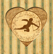 Vintage Heart - Engel