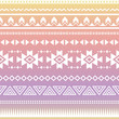 Tribal aztec ombre seamless pattern