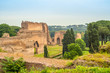 View at Caracalla Baths Ruins