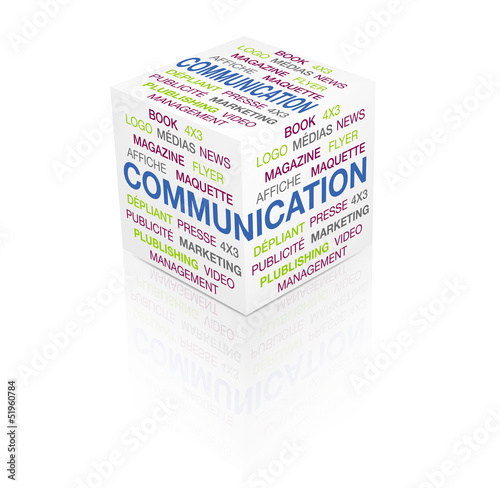 cube 3d communication