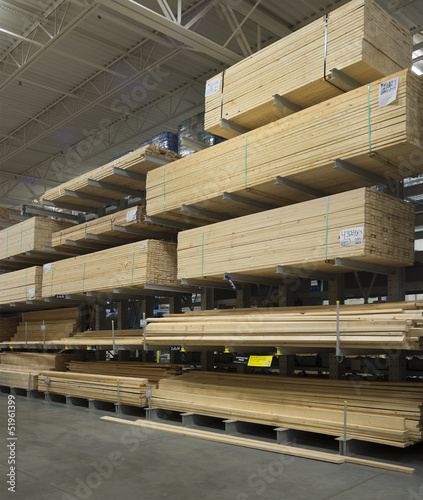 Commercial  indoor lumberyard