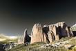 paisaje con montañas. Riglos.Huesca. Aragon. España