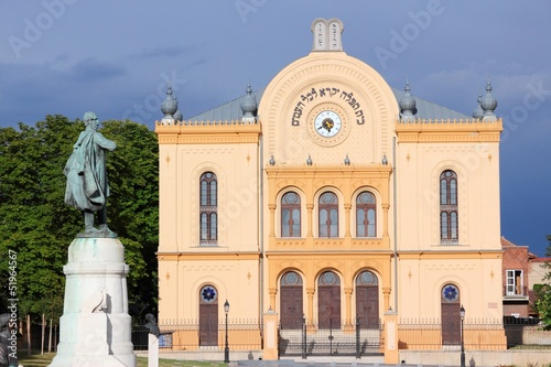 Hungary - Pecs - famous synagogue