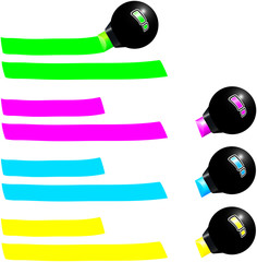 Fluorescent Marker ( Leuchtstifte )