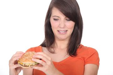 Hate a burger
