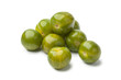 Heap of green yellow tomatoes