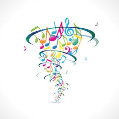 tornade de musique