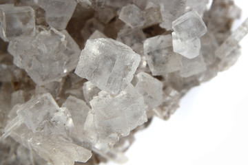 natural salt cubes (mineral, food ingredient)