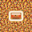 Geometric Background - Seamless Pattern - Vintage Hipster
