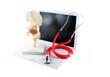 Stetoskop auf Laptop