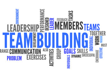 Team Building (tag cloud)
