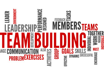 Team Building (tag cloud)