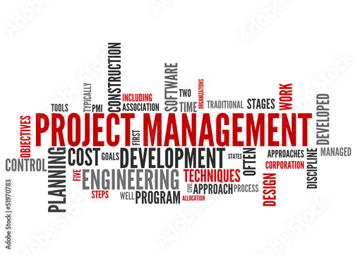 Project Management (tag cloud)