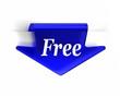 Blue Free Arrow