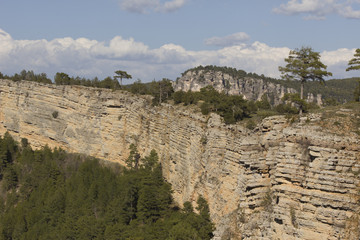 Cliff in Cuenca Range Natural Park