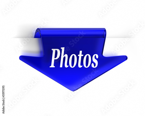 Blue Photos Arrow