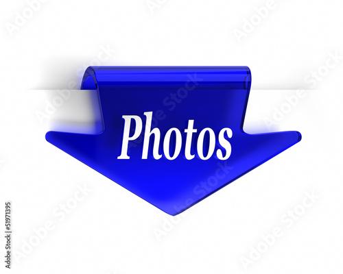 Blue Photos Arrow