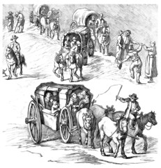 Ancient Cars - 18th century