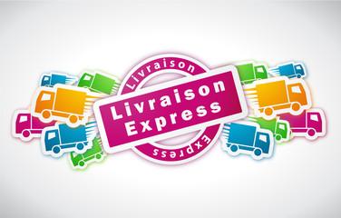 Livraison express - Illustration vectorielle