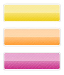 vibrant rectangle button
