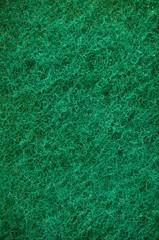 Green abrasive sponge