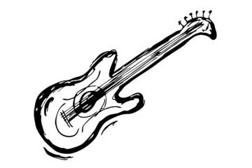 Elektrische Gitarre...