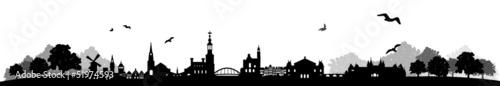 Skyline Amsterdam