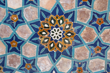 Islamic tile work - islamische Fliesenkunst