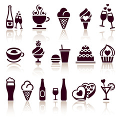 Set food icons