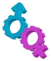 simbolo uomo e donna