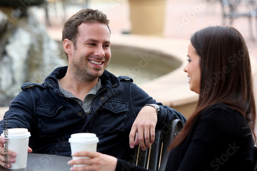 Couple coffee