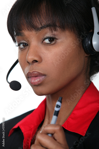 Call-centre operative holding pen