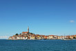 Coastal city Rovinj in Croatia Adriatic coast, peninsula