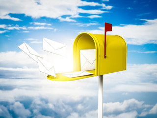 Mailbox on the sky