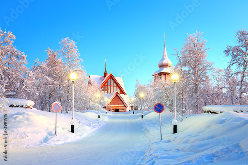 Kiruna cathedral Sweden