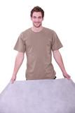 Artisan showing coating
