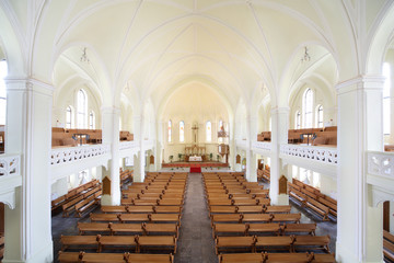 Inside Evangelical Lutheran Cathedral