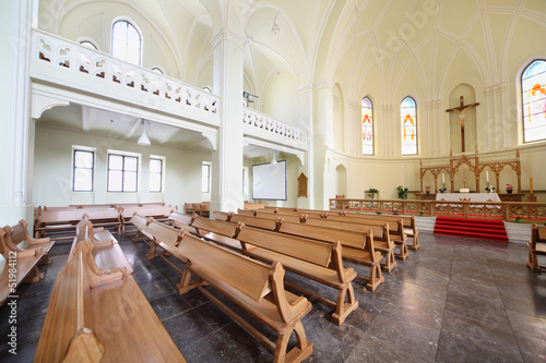 Hall in Evangelical Lutheran Cathedral