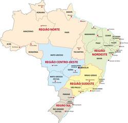 Brasilien Administrativ