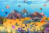 Fototapeta Do akwarium - podwodny świat, © klatki