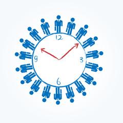 会社員 時計