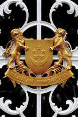 Coat of Arms Singapore 1