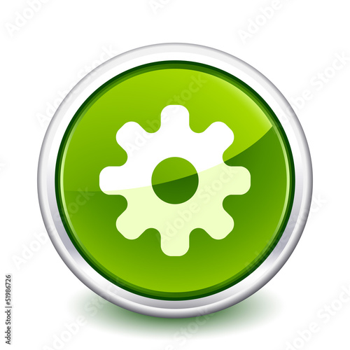 button green gear