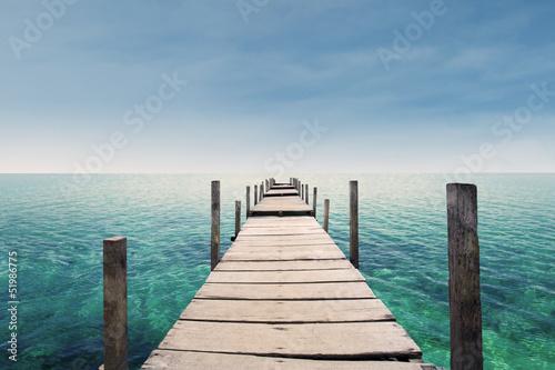 Obraz na Plexi The way to paradise island