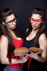 Knowledge Is The Key - Sexy Smart Twins