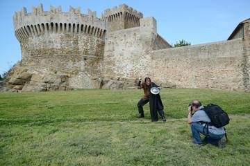 Ritter und Fotograf