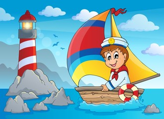 Image with sailor theme 4