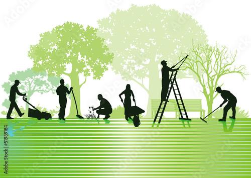 Gartenarbeiten und Gartenpflege - 51989184